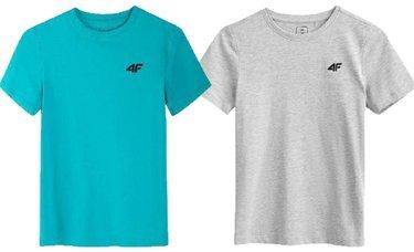 Zestaw 2 koszulki chłopięce 4F t-shirt 2 pac