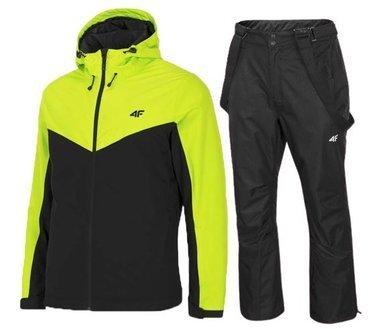 Zestaw narciarski męski 4F spodnie i kurtka