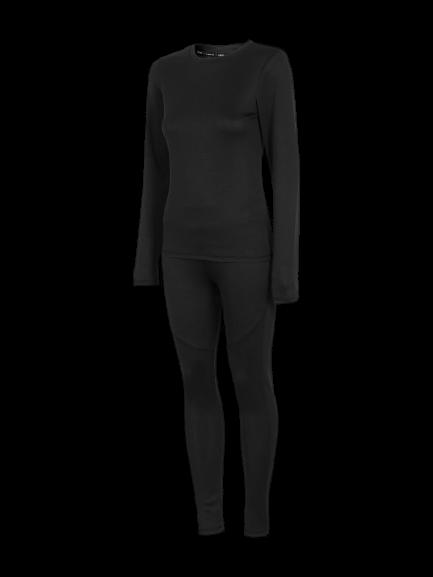 Bielizna damska OUTHORN BIDC600 czarna zestaw