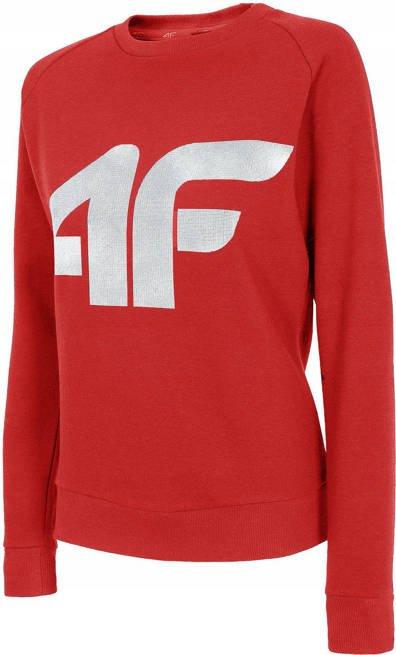 Bluza damska 4F BLD001 czerwona ocieplana