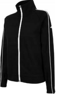 Bluza damska 4F BLD005 czarna na zamek