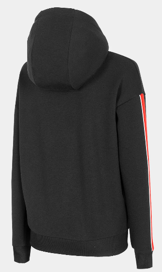 Bluza damska 4F BLD017 na zamek czarna