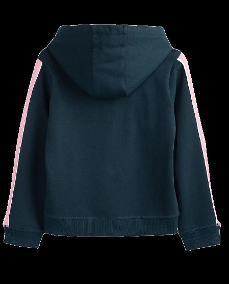 Bluza dziewczęca 4F JBLD002 granatowa