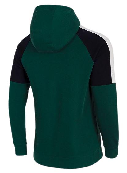 Bluza męska 4F BLM011 z kapturem ciemna zieleń