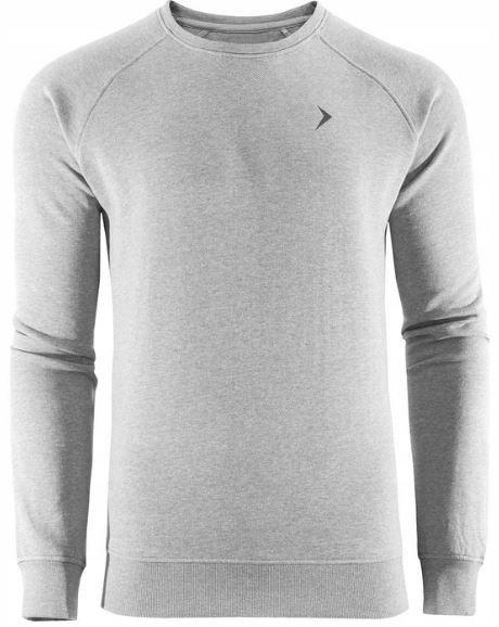 Bluza męska przez głowę OUTHORN BLM600 SZARA