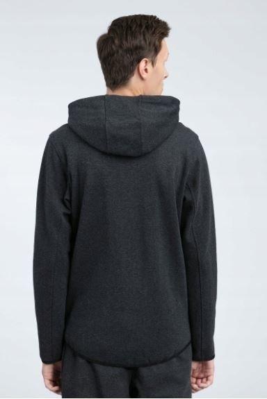 Bluza męska rozpinana 4F BLM005  z kapturem XXL