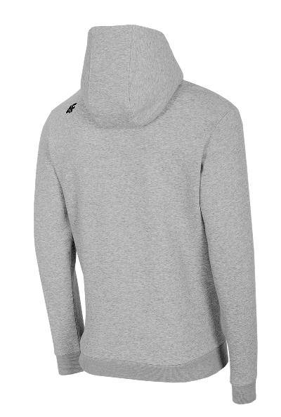 Bluza męska z kapturem 4F BLM023 szara