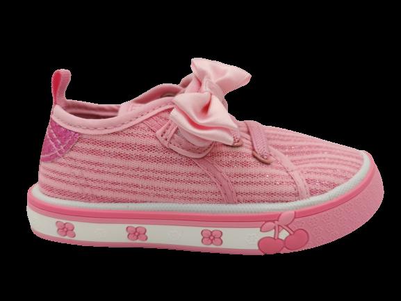 Buty dziecięce tenisówki sportowe różowe