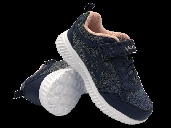 Buty dziewczęce adidasy sportowe VOP1915K-3 granatowe