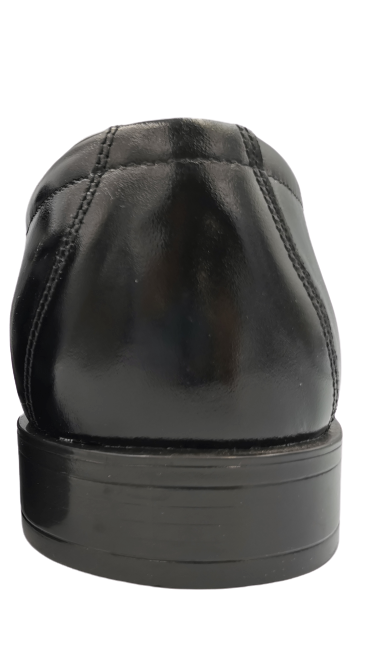 Buty eleganckie skórzane 0-84 czarne 44