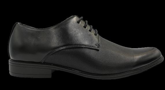 Buty eleganckie wizytowe męskie MXC410 czarne