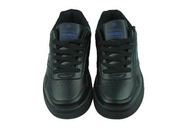 Buty sportowe B9203-1 czarne chłopięce