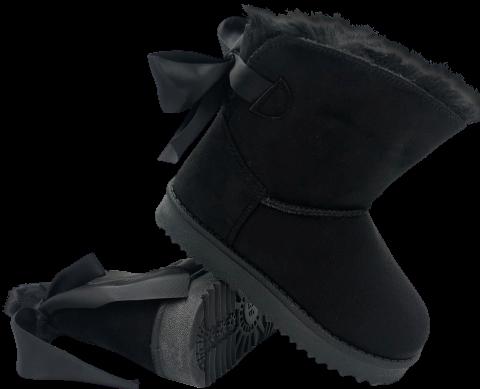 Buty zimowe dziewczęce EMU K1647407 CZARNE