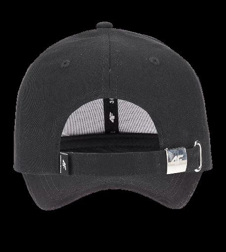 Czapka z daszkiem damska 4F CAD006 czarna