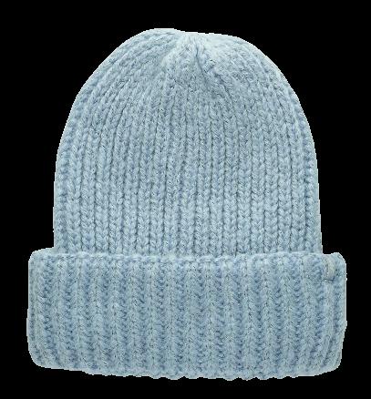 Czapka zimowa damska 4F CAD074 niebieska