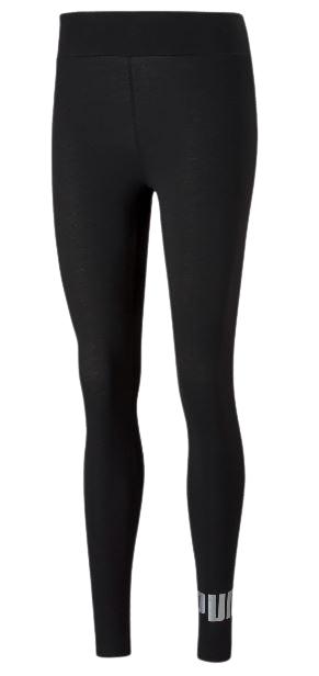Damskie legginsy PUMA 586896 51 bawełna czarne