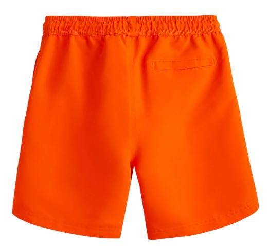 Kąpielówki chłopięce 4F JMAJM005 pomarańczowe