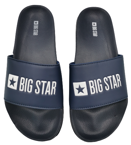 Klapki damskie BIG STAR GG274A043 granatowe