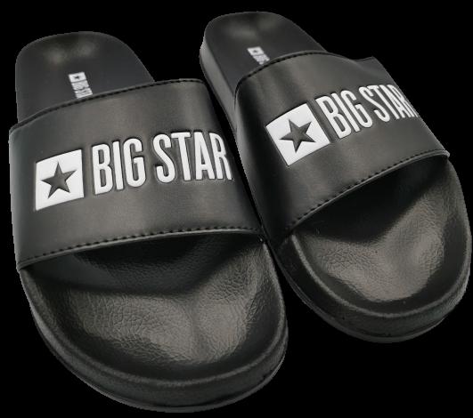 Klapki męskie BIG STAR GG174931 czarne
