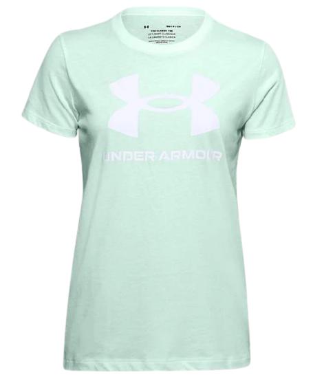 Koszulka damska UNDER ARMOUR 1356305 miętowa