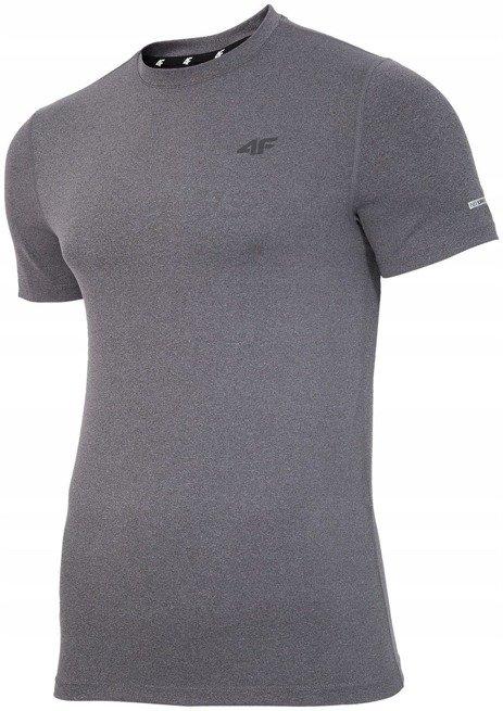 Koszulka sportowa treningowa 4F fitness szara XXL