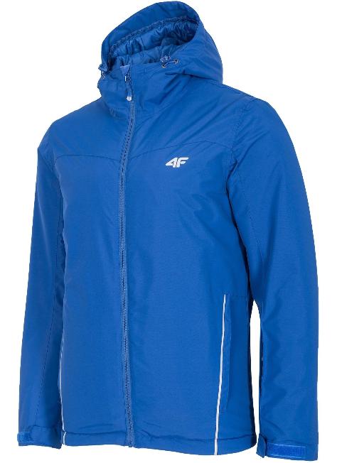 Kurtka męska narciarska 4F KUMN001 niebieska