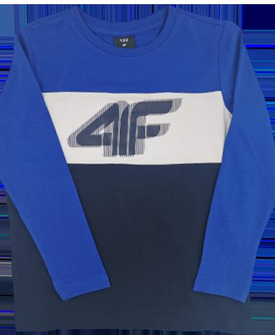 Longsleeve chłopięcy 4F JTSML002A bluzka