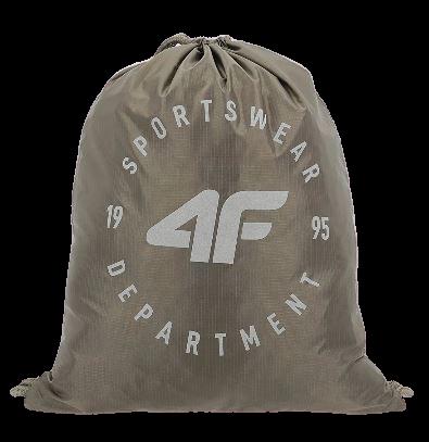 Plecak 4F worek zieleń khakii PCU015 one size