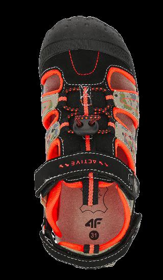 Sandały chłopięce 4F JSAM002 multikolor