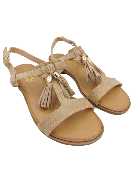 Sandały damskie beżowe VL11