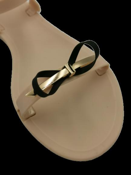 Sandały damskie beżowe wygodne PT80-14