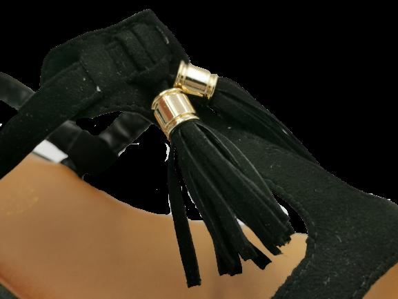 Sandały damskie czarne VL11
