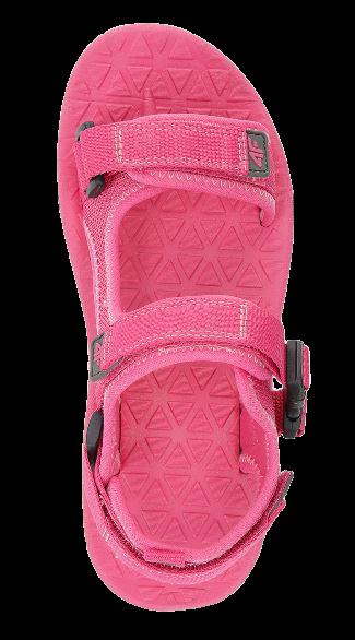 Sandały dziewczęce 4F JSAD002 różowe