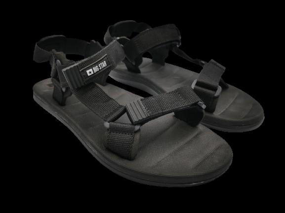 Sandały męskie Big Star FF174499 obuwie czarne