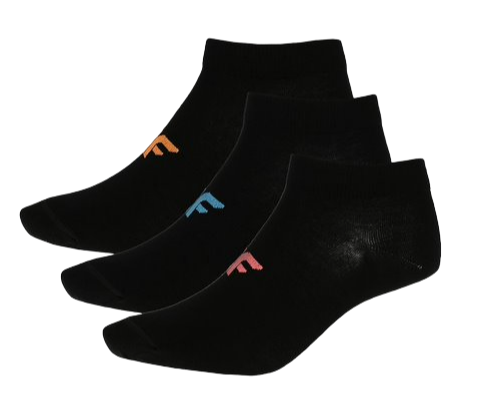 Skarpetki damskie 4F SOD005 3pak czarne