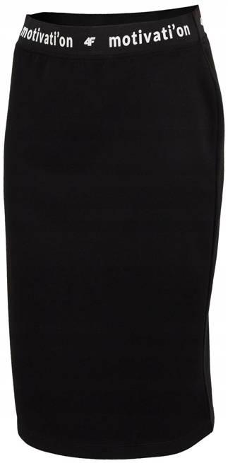 Spódnica sportowa 4F dresowa SPUD001 czarna