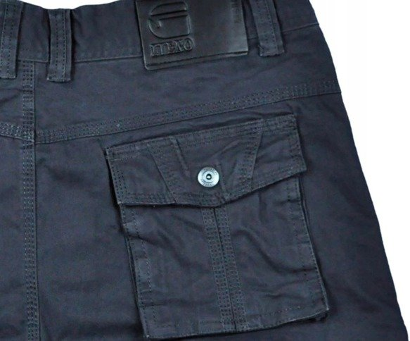Spodnie bojówki myśliwskie granat 8813 7 30