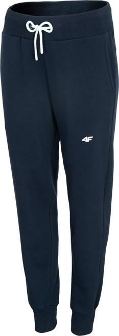 Spodnie damskie 4F SPDD001 dresowe granatowe
