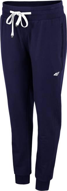 Spodnie damskie 4F SPDD010 dresowe granatowe