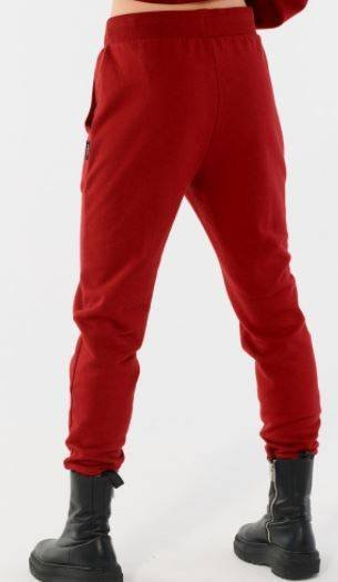 Spodnie damskie OUTHORN SPDD601 ciemna czerwień