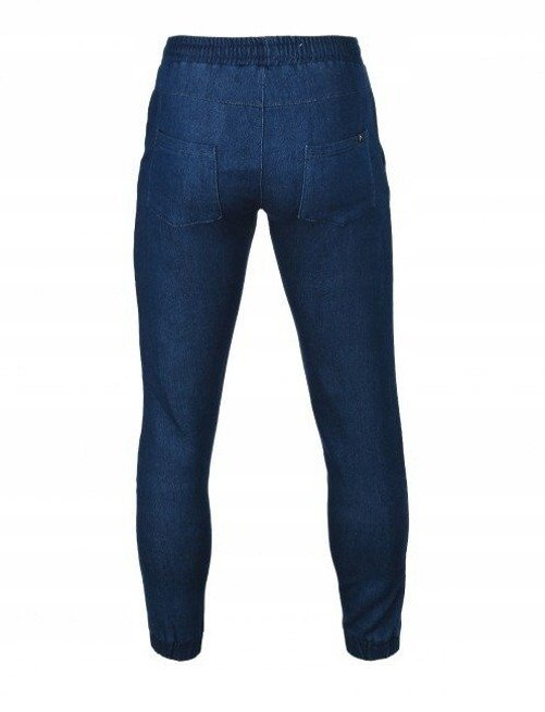Spodnie dresowe męskie OUTHORN niebieski M