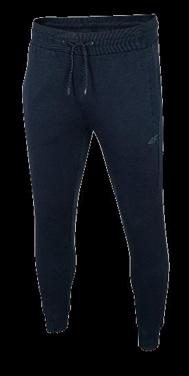 Spodnie męskie 4F SPMD010 dresowe granat