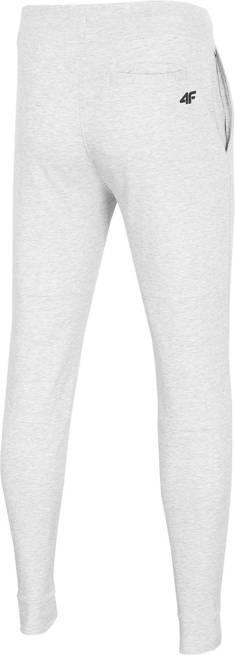 Spodnie męskie 4F SPMD013 dresowe jasno szare
