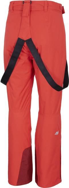 Spodnie narciarskie damskie 4F SPDN001 czerwone