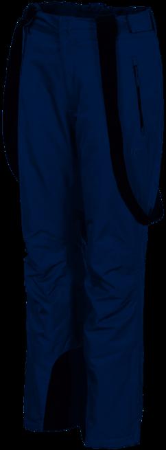 Spodnie narciarskie damskie granatowe 3XL