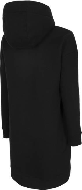 Sukienka damska 4F SUDD011 dresowa czarna