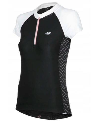 T-shirt damski 4F RKD002 koszulka rowerowa czerń M