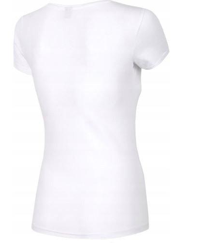 T-shirt damski 4F TSD001 BIAŁY