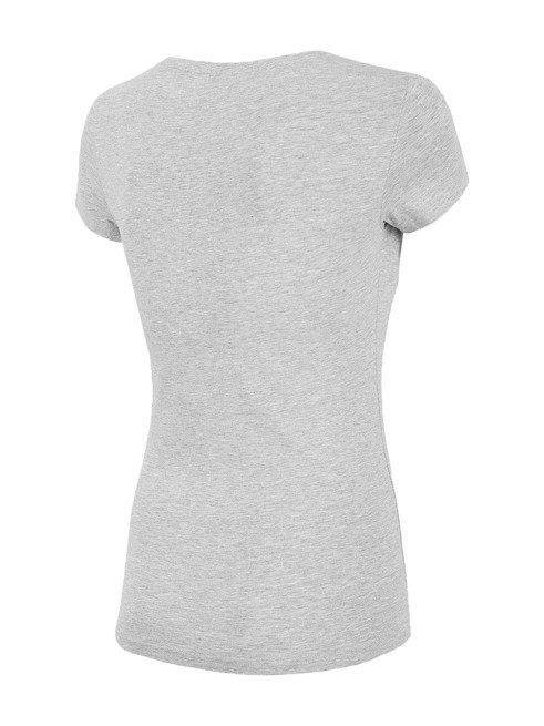 T-shirt damski 4F TSD001 szary