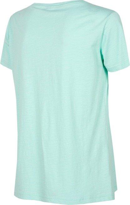 T-shirt damski 4F TSD002 MIĘTOWY bawełna